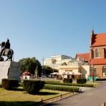 Southern Poland's historic city — Stock Photo