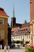 The city of Wroclaw, Poland — Foto de Stock