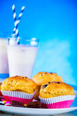 Delicious sweets in saturated composition — Stock Photo