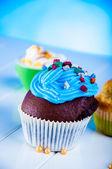 Słodki słodycze świata, babeczki — Zdjęcie stockowe