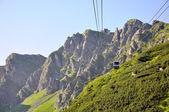 Wonderful European mountain ranges — Stock Photo