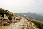 Natural mountain landscape — Stock Photo