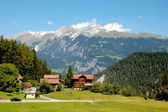 Wonderful natural landscape of Alps, central Europe — 图库照片
