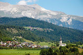 Wonderful natural landscape of Alps, central Europe — Stock Photo