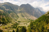 Beautiful alpine mountain ranges, central Europe — Foto de Stock