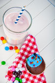 Sweets, delights, sweetmeats, saturated composition — Stock Photo