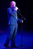 SEVILLA, SPAIN, APRIL, 30: Jose Manuel Soto concert at Lope de Vega theater. — Stock Photo