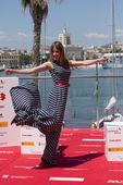 Spanish actress Marta Larralde — Stock Photo