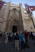 Katedra w sewilla, hiszpania — Zdjęcie stockowe