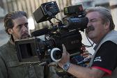 Shooting the movie - Maldita Venganza - — Stock Photo