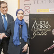 Stock Photo: Presentation of book -AliciAlonso or eternity of Giselle-