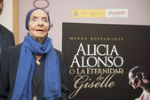 Presentation of the book -Alicia Alonso or eternity of Giselle- — Stock Photo