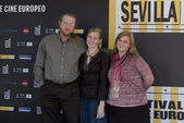 SEFF - Seville X European Film Festival - Day 4 — Stock Photo