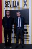 SEFF - Seville European Film Festival - Day 1 — Stock Photo