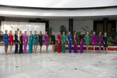 Miss World Sevilla 2013 — Stock Photo