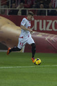 Partido entre Sevilla y Athletic Bilbao, jornada 16 de la Liga B — Stock Photo