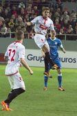 Partido entre Sevilla y Athletic Bilbao, jornada 16 de la Liga B — Foto Stock