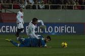 Partido entre Sevilla y Athletic Bilbao, jornada 16 de la Liga B — Stock Photo