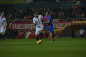 Soccer: Sevilla vs. Levante — Stock Photo