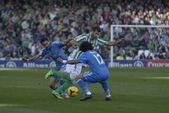 Encuentro Real Betis - Real Madrid correspondiente a la jornada — Stock Photo