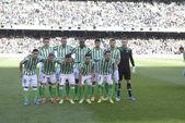 Encuentro Real Betis - Real Madrid correspondiente a la jornada — 图库照片