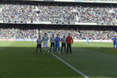 Encuentro Real Betis - Real Madrid correspondiente a la jornada — Stock Photo