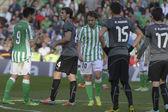 Encuentro Real Betis - Espanyol correspondiente a la jornada 22 — ストック写真