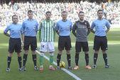 Encuentro Real Betis - Espanyol correspondiente a la jornada 22 — Stock Photo