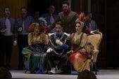 Ensayo general opera La Cenerentola — Zdjęcie stockowe