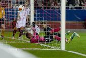 Sevilla FC vs Real Betis Europa League 2014 round of. — Stock Photo