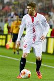 Sevilla FC vs Real Betis Europa League 2014 round of. — Foto Stock
