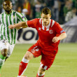 Постер, плакат: The Sevilla FC left out of the UEFA Europa League to Real Betis