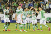 The Sevilla FC left out of the UEFA Europa League to Real Betis — Stock Photo