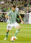 The Sevilla FC left out of the UEFA Europa League to Real Betis — Стоковое фото