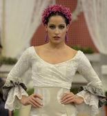 Ii upplagan tävling av flamenco mode ikea sevilla — Stockfoto