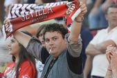 Sevilla's follower — Stock Photo