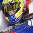 Постер, плакат: 2014 GP3 series traing Jerez day 2