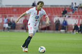Match Sevilla FC - Granada FC for Week 34 of the 2013-2014 Liga  — ストック写真