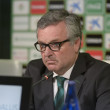 Постер, плакат: The president Manuel Dominguez Platas of Real Betis Football app