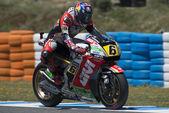 GP bwin of Spain - MotoGP Free Practice 2 — Stock Photo
