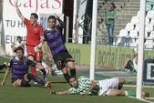 Odpovídají za týden 37 španělské ligy betis vs vlladolid — Stock fotografie