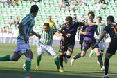 Match Betis vs Vlladolid for week 37 of Spanish League — Stock Photo
