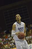 Encuentro de baloncesto Cajasol - Fiatc — Stok fotoğraf