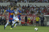 Match Sevilla - Villarreal Match Sevilla - Elche for Week 38 of — Stock Photo