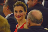 The princes of Asturias presided over the closing ceremony of th — Stock Photo