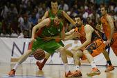 Basket match Cajasol - Valencia — Стоковое фото