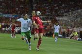 Match spain - Bolivia — Стоковое фото