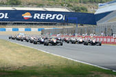 International GT Open and Euroformula Open Day 1 — Stock Photo