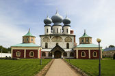 Monastery cathedral — Stock Photo