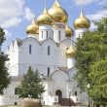 Uspensky Cathedral Yaroslavl Russia — Stock Photo #29592547